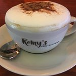 We offer coffee and delicious breakfast options!