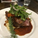 The lamb was outstanding