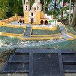 Achurch built on an Aztec temple