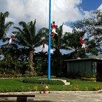 The pole dancers, the Totonac people