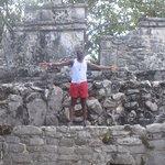 Mayan Ruins at Xcaret