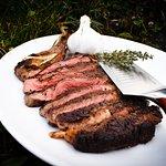 We love steak
