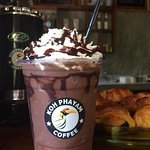 Best Chocolate Frappe in town! only 80THB (Imported Chocolate)