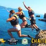 outdoor trip coasteering with The Challenge Mallorca