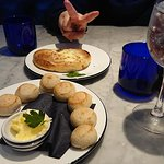 Starters Dough Balls and Garlic bread