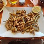 Frititos, Fried fish and squid