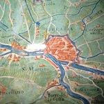 planimetria antica di Ferraria e provincia