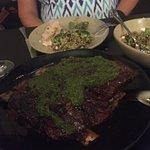 Amazing beef rib and simply stunning salad