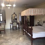 Marvellous, palatial Amar Mahal Hotel; we booked on booking.com & never expected such a celestia