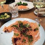saumon saumuré et saumon à l'unilatérale