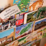 Help yourself to our FREE postcards, tell all your friends about the great stay at Albany House.