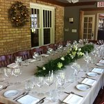 Boardroom private family dining for up to 20 people