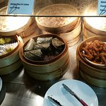a wonderful selection of tasty dim sum