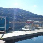 Marina area with boat rentals.