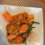 Panang Curry w/ chicken