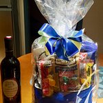 Gift baskets are available for purchase & delivered to your room.