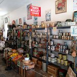 Part of the inside of the general store at the Pinellas County Heritage Village.