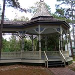 The old Bandstand at the Pinellas County Heritage Village.