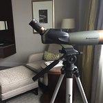 Telescope in the room