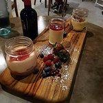 "Valentines ""Sweet Dreams"" Dessert Platter for 2. Tiramisu 2-ways, Panacotta, Chocolate Strawberr"