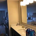 Bathroom sink in bedroom?