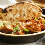 Naan and Butter Chicken