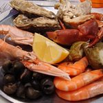petit plateau de fruits de mer