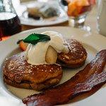 Gingerbread pancakes...need I say more?
