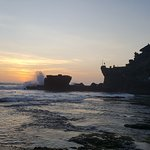 and finally amazing sunset in Tanah Lot