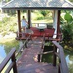 The private lagoon gazebo