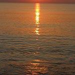 Sunset on the Anantara beach