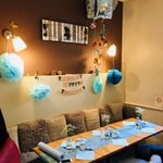 Baby shower space
