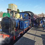 The Bluebell Visits Spa Valley Railway in Tunbridge Wells