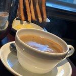 Coffee at breakfast.