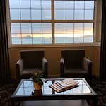 Sunset view from the Ocean View Superior Double room