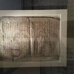 This reminds me of the Gutenberg Bible from 1455, the first printed book in western histrory.