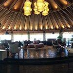 Impressive reception area to the Hotel Wailea