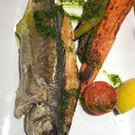 Delicious Seabass and Sardines