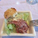 Le tartare d'impala...délicieux!