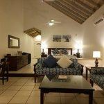 View of our premium beachfront suite