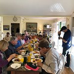 Another terrific weekend with friends and guests at the Olallieberry!!!
