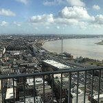View toward the river and French Quarter
