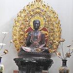 Budha temple (1st temple visit)
