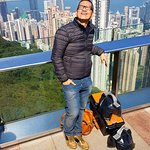 These photos was taken at Victoria peak in Hongkong last February 13, 2018.