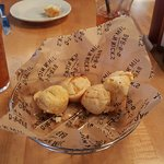 Cheesy muffins.