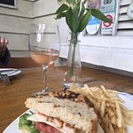 Shrimp BLT and Rose