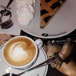 Cafe con crostata
