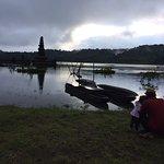 Foto de Terrasse du Lac Tamblingan Sari