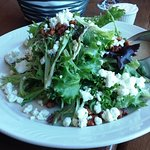 Artisan lettuce, maple-walnut vinaigrette, spicy walnuts, crumbled goat cheese