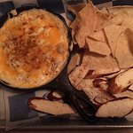 A huge crab dip appetizer
